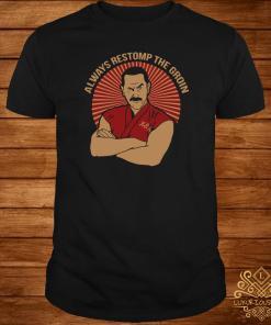 Master Ken Always Restomp The Groin Shirt