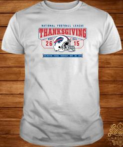 National Football League Thanksgiving Buf Dal Shirt