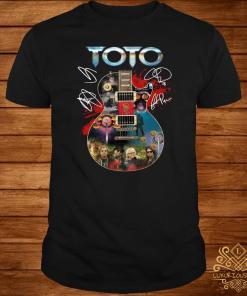 Toto Guitar Signatures Shirt