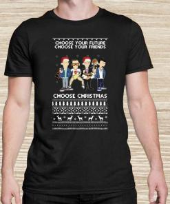 Trainspotting Choose Your Future Choose Your Friends Choose Christmas Ugly Unisex
