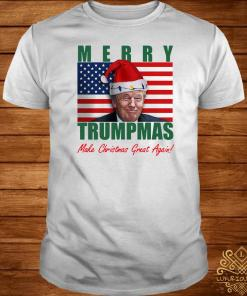 Trump Merry Trumpmas Make Christmas Great Again Shirt