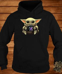 Baby Yoda Hug Camera Hoodie