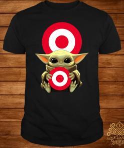 Baby Yoda Hug Circle Shirt