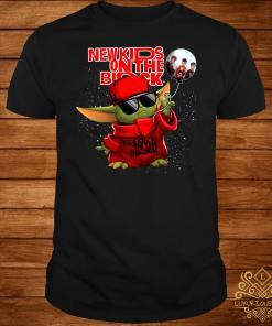 Baby Yoda New Kids On The Block Shirt