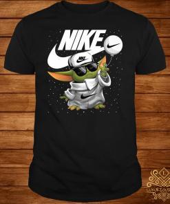 Baby Yoda Nike Shirt
