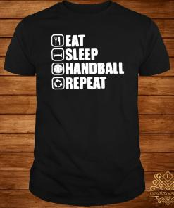 Eat Sleep Handstand Repeat Shirt
