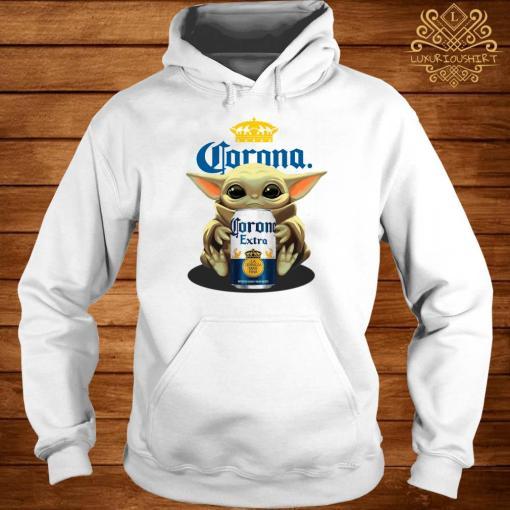 Baby Yoda Hug Corona Extra Hoodie