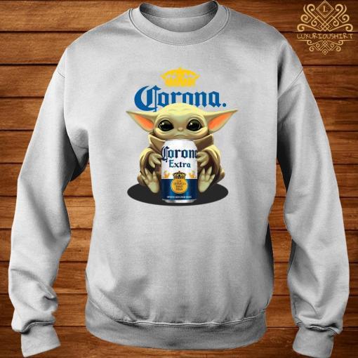 Baby Yoda Hug Corona Extra Sweater