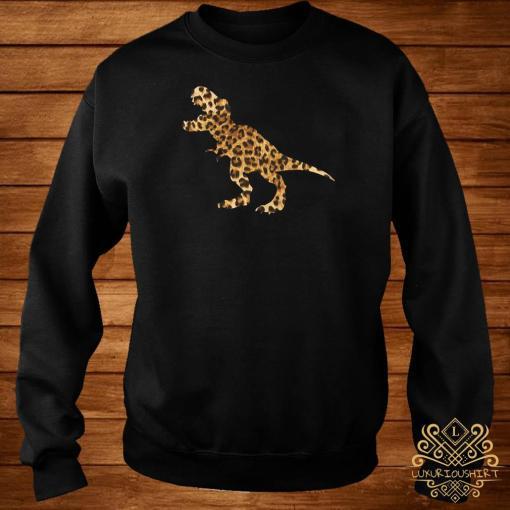 Dinosaur T-rex Leopard Sweater