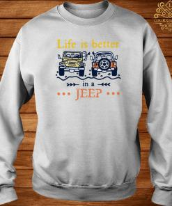 Life Is Better In A Jeep Sweater