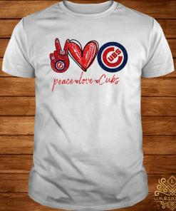 Peace Love Chicago Cubs Shirt