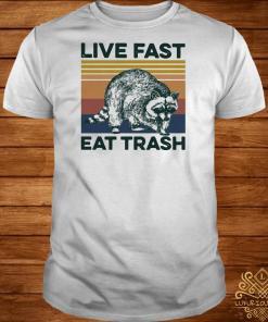 Raccoon Life Fast Eat Trash Vintage Shirt