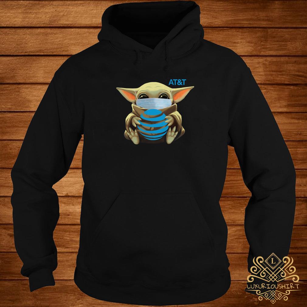 Baby Yoda Mask Hug AT&T Hoodie