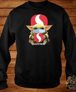 Baby Yoda Mask Hug Safeway Sweater
