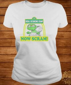 123 Social Distancing Champ Now Cram Shirt ladies-tee