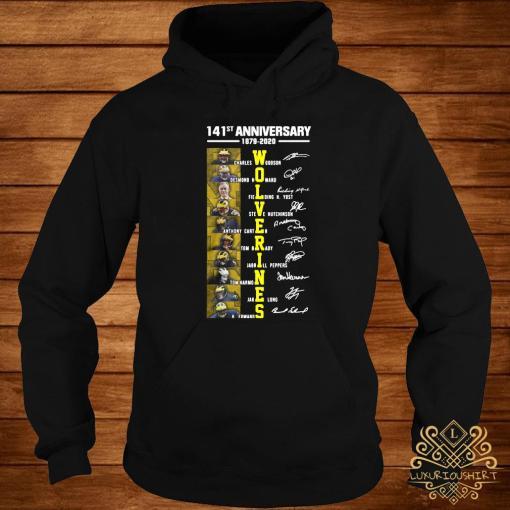 141st Anniversary 1879 2020 Wolverines Charles Woodson Desmond Howard Fielding Shirt hoodie