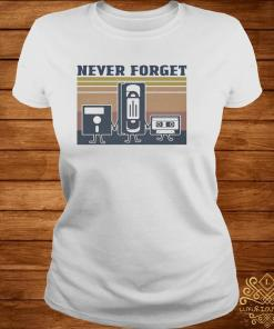Cinematography Never Forget Vintage Shirt ladies-tee