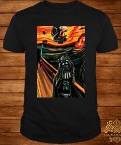 Munch The Scream Darth Vader Star War Shirt