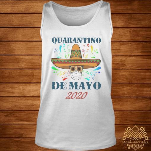 Quarantino De Mayo 2020 Shirt tank-top