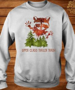 Raccoon Upper Class Trailer Trash Watercolor Art Shirt sweater