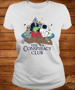 The Conspiracy Club Shirt ladies-tee