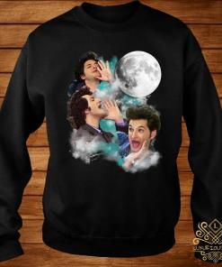 Three Jean Ralphio Moon Shirt sweater