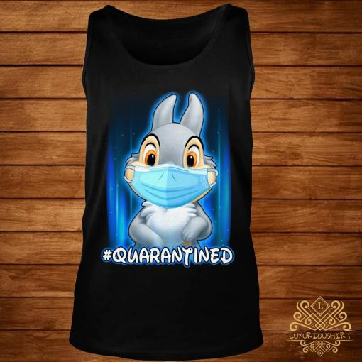 Thumper Face Mask Quarantined Shirt tank-top