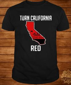 Turn California Red Shirt
