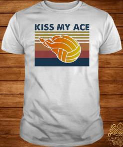 Volleyball Kiss My Ace Vintage Shirt