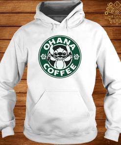Stitch Ohana Coffee Shirt hoodie