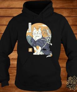 Cat Samurai Shirt hoodie