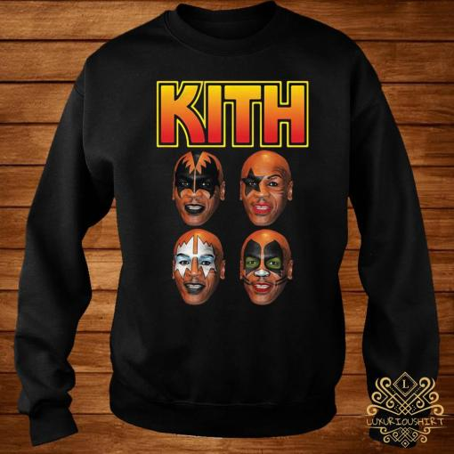 Kith Kiss Rock Mike Tyson Shirt sweater