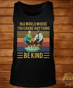 Mister Rogers Gay Police In A World Where You Can Be Anything Bekind Vintage Shirt tank-top