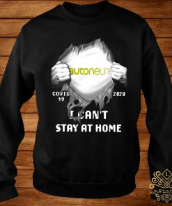Autoneum Inside Me Covid-19 2020 I Can't Stay At Home Shirt sweater