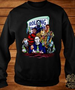 Horror Character Rolling Rock Shirt sweater