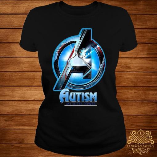 Autism My Super Power Shirt ladies-tee