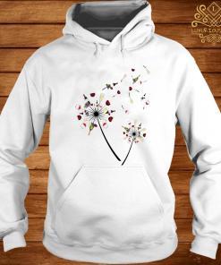 Wine Dandelion Flower Shirt hoodie