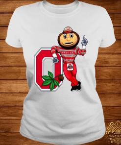 Brutus Buckeye Ohio State Buckeyes Shirt ladies-tee