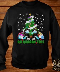 Daschund Oh Quaran Tree Shirt sweater