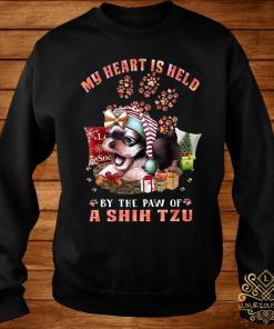 My Heart Is Held By The Paw Of A Shih Tzu Shirt sweater