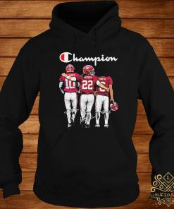 Alabama Crimson Tide Mac Jones Harris Smith Champion Signatures Shirt hoodie