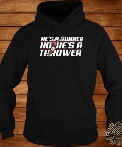 Josh Allen Runner No He's A Thrower Shirt hoodie