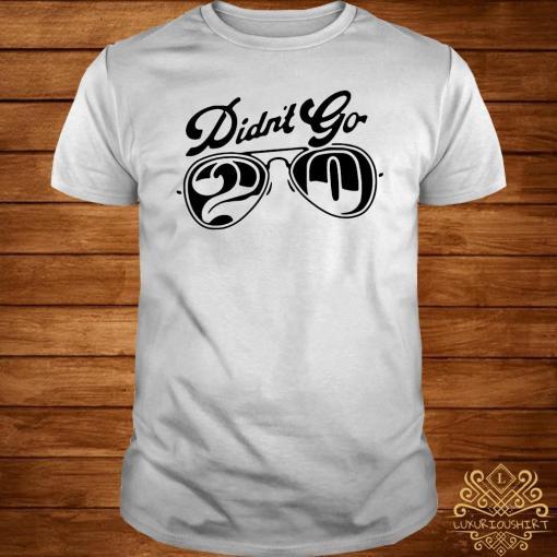Rut Daniels Didn't Go 20 Shirt