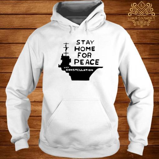 Stay Home For Peace Joan Baez Shirt hoodie