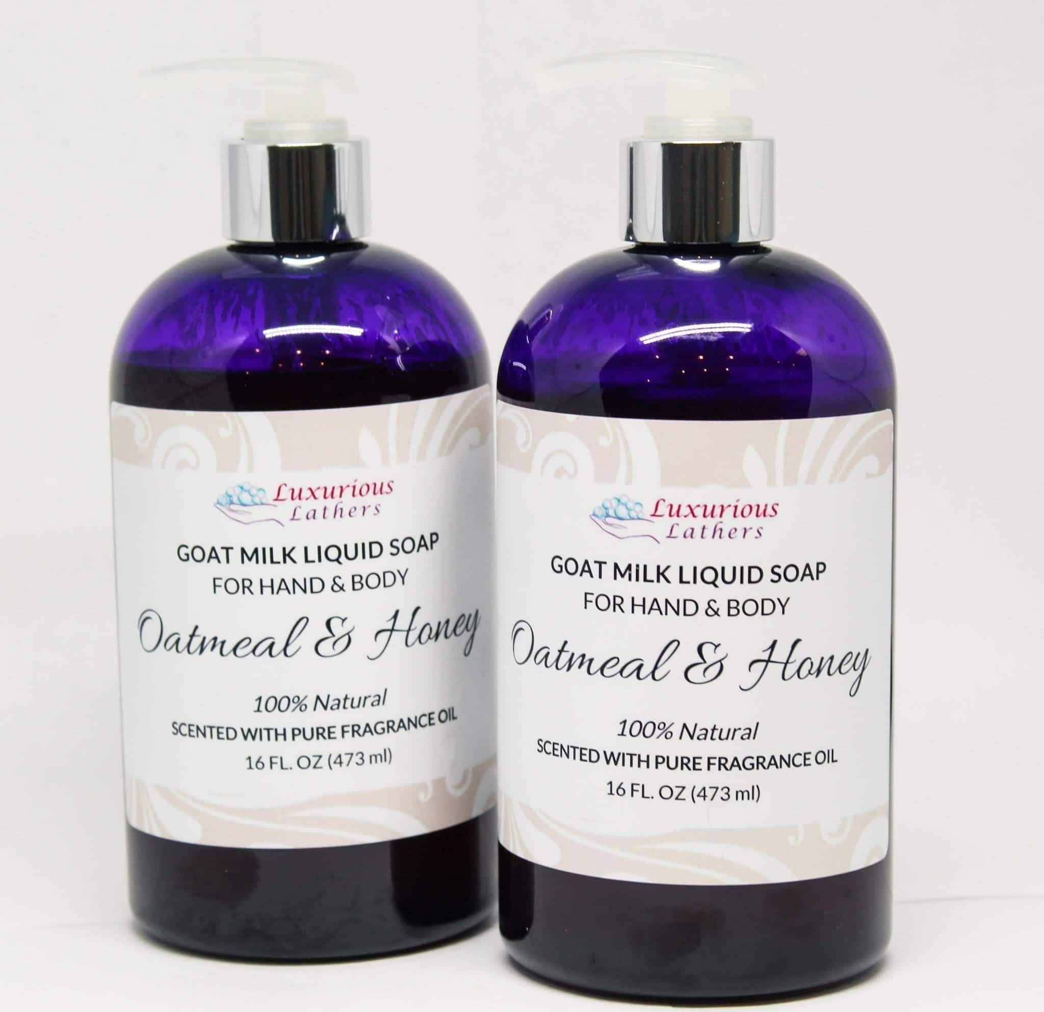Oatmeal & Honey Goat Milk Liquid Soap