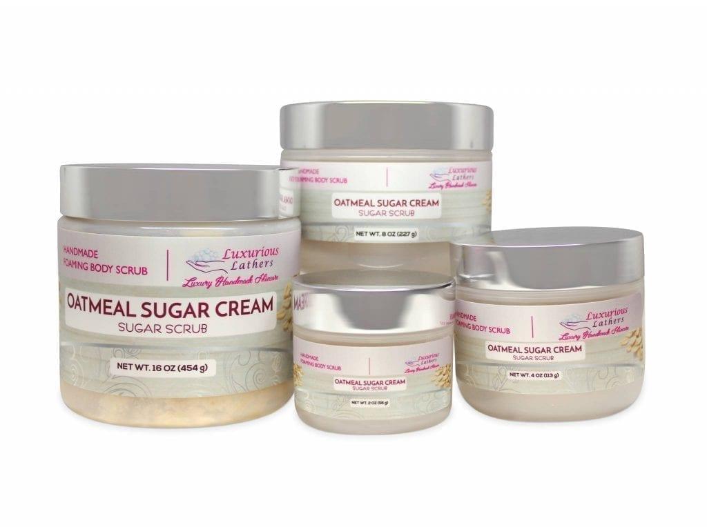 Oatmeal Sugar Cream Foaming Body Scrub