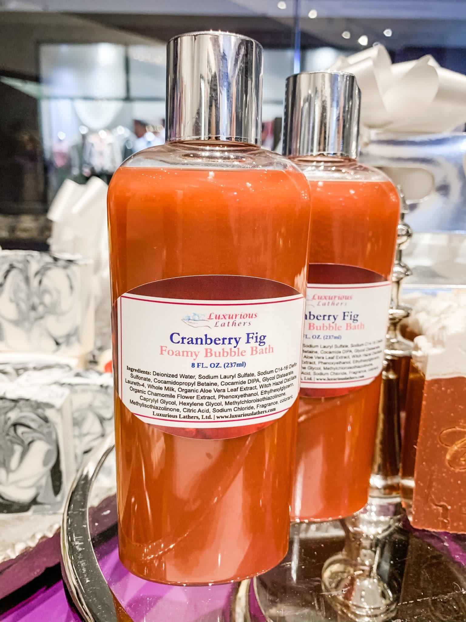 Cranberry Fig Foamy Bubble Bath