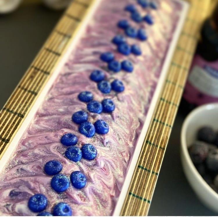 Blueberry Poppyseed Designer Soap