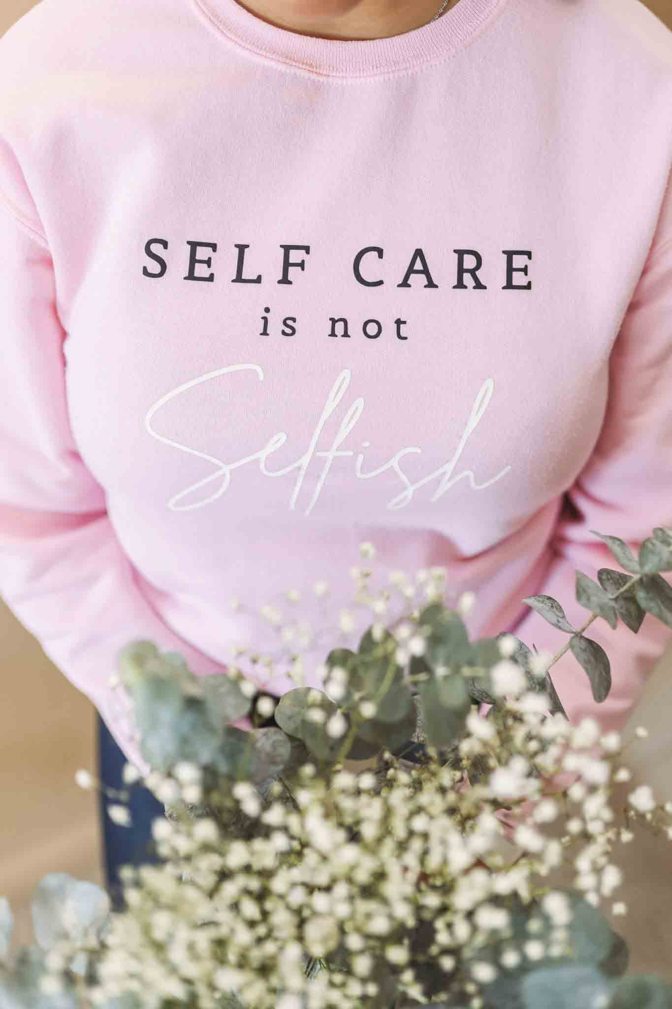 Self Care Crewneck