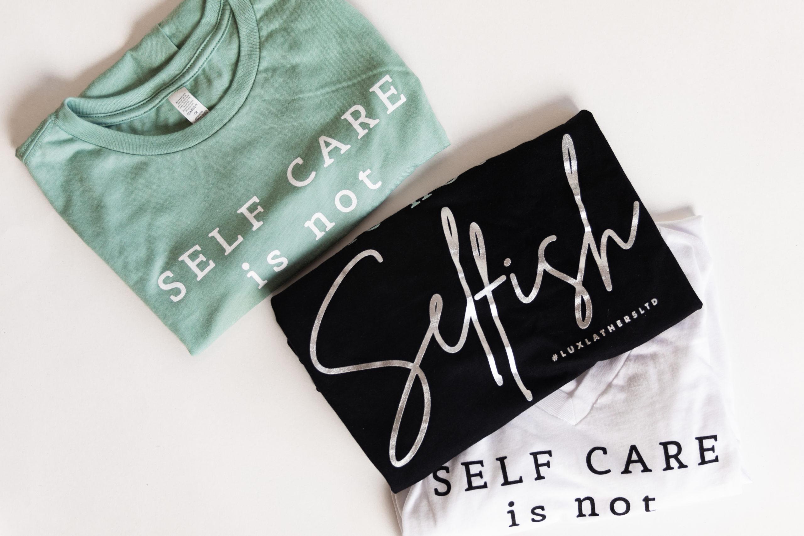 Signature Self Care Tee
